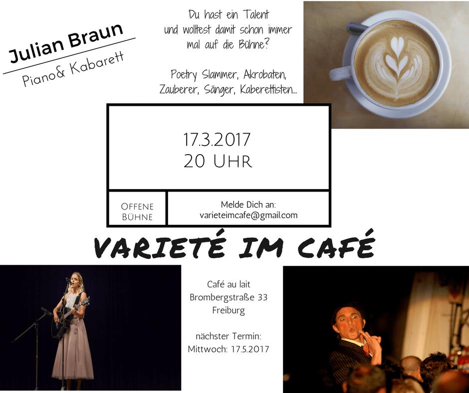 Varieté im Café in Freiburg