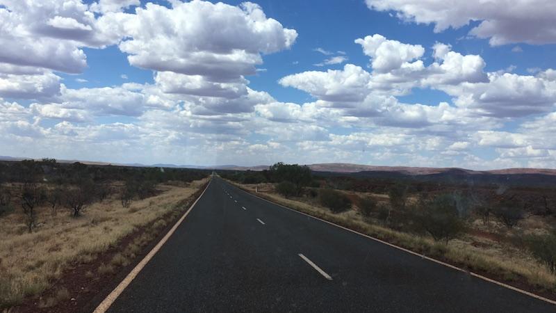 1600 km zurück nach Perth