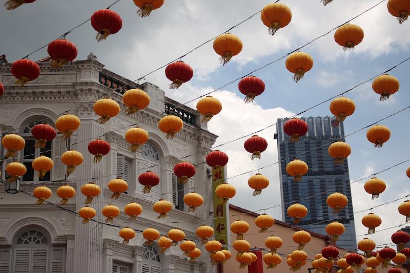 Chinatown und Gardens by the Bay